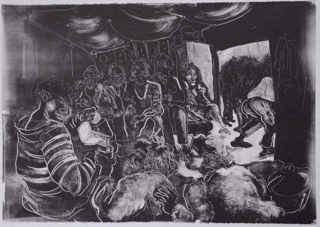 Editorial New Talent – Marguerite Carnec, una artista francesa que hizo una licenciatura en Ilustración en Camberwell College of Arts. En sus obras siempre se inspira en la injusticia social y la condición humana.