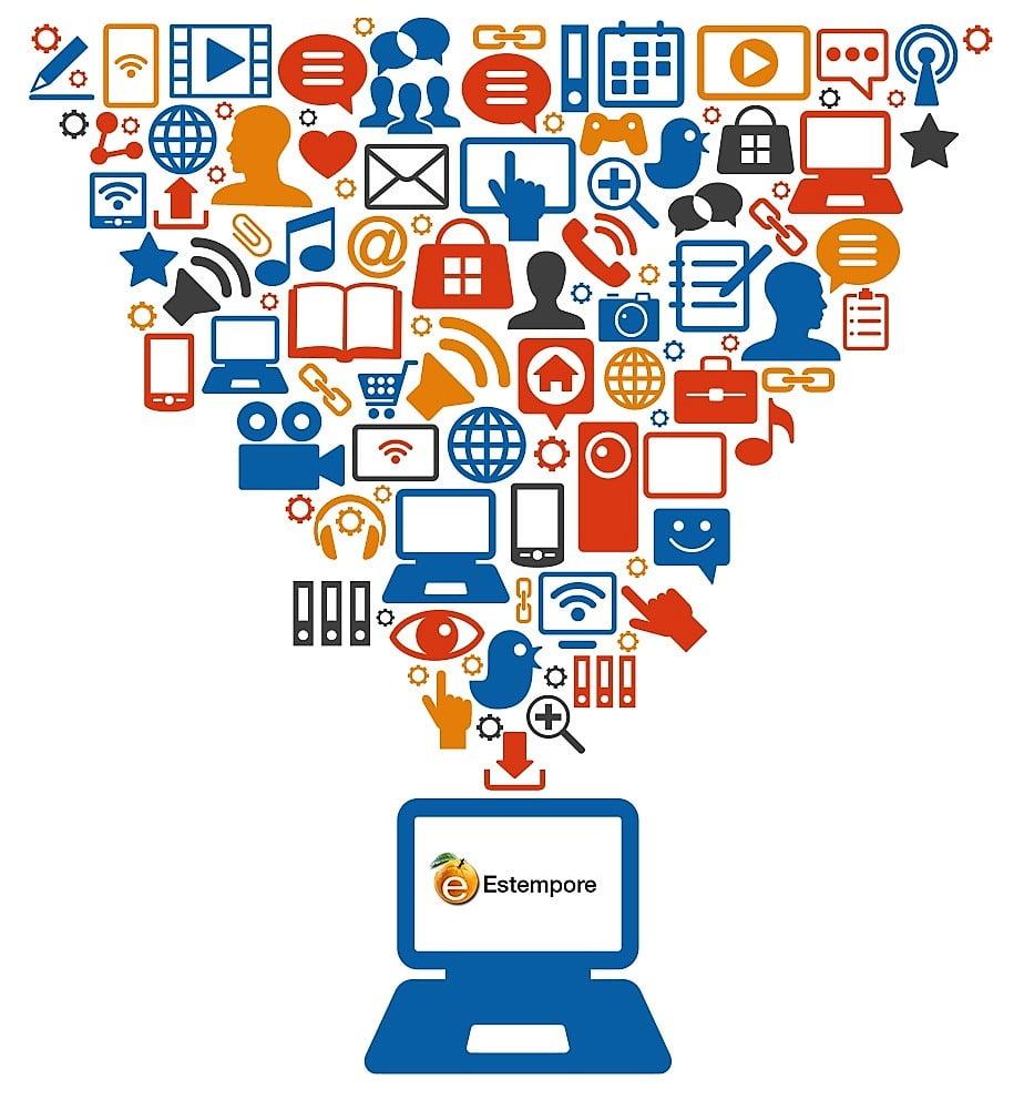 éxito redes sociales