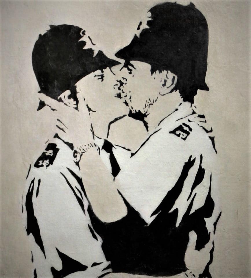 """Ilustración gráfica: """"Para los medios de comunicación es más interesante no descubrir la verdadera identidad de Banksy""""."""