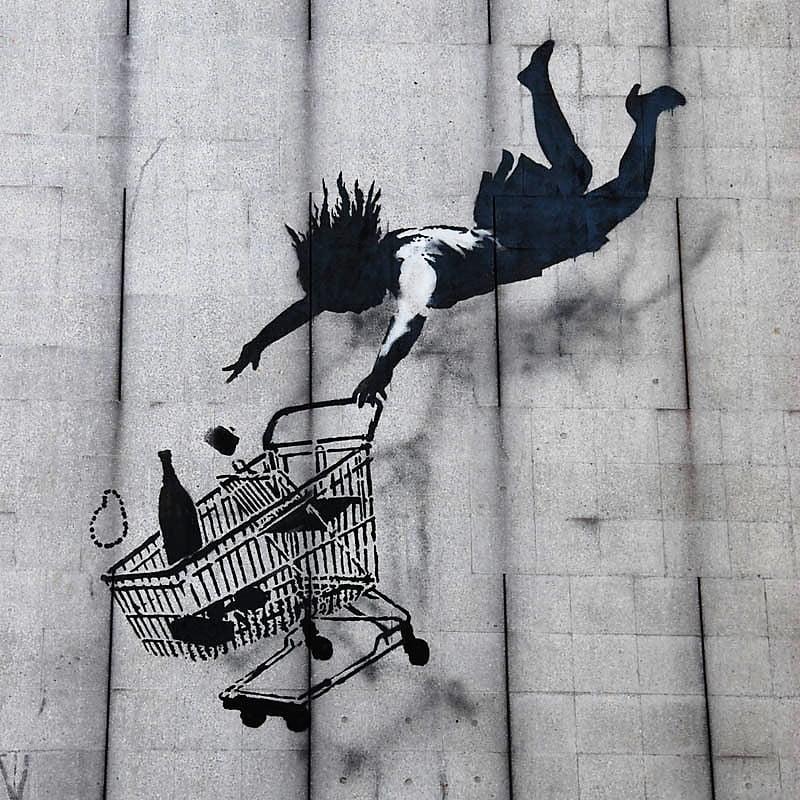 Shop until you drop, en Mayfair, Londres; consumismo desenfrenado.
