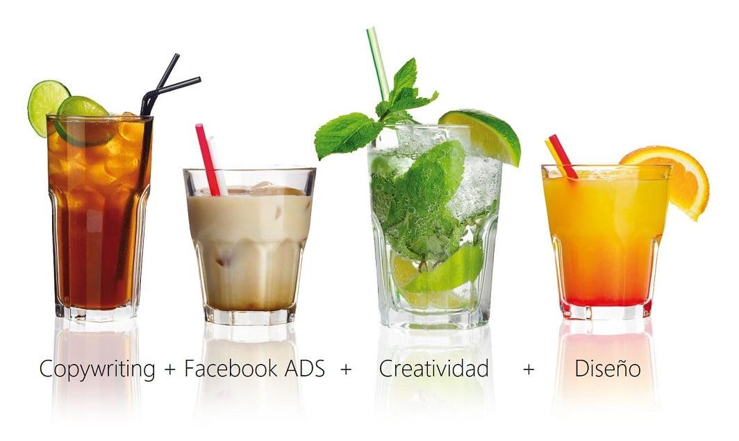 Copywriting + Facebook ADS + Creatividad + Diseño